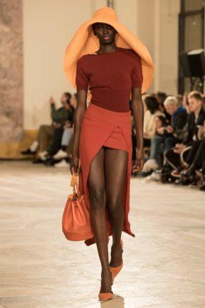 Look 42 (skirt) JACQUEMUS FW18 C