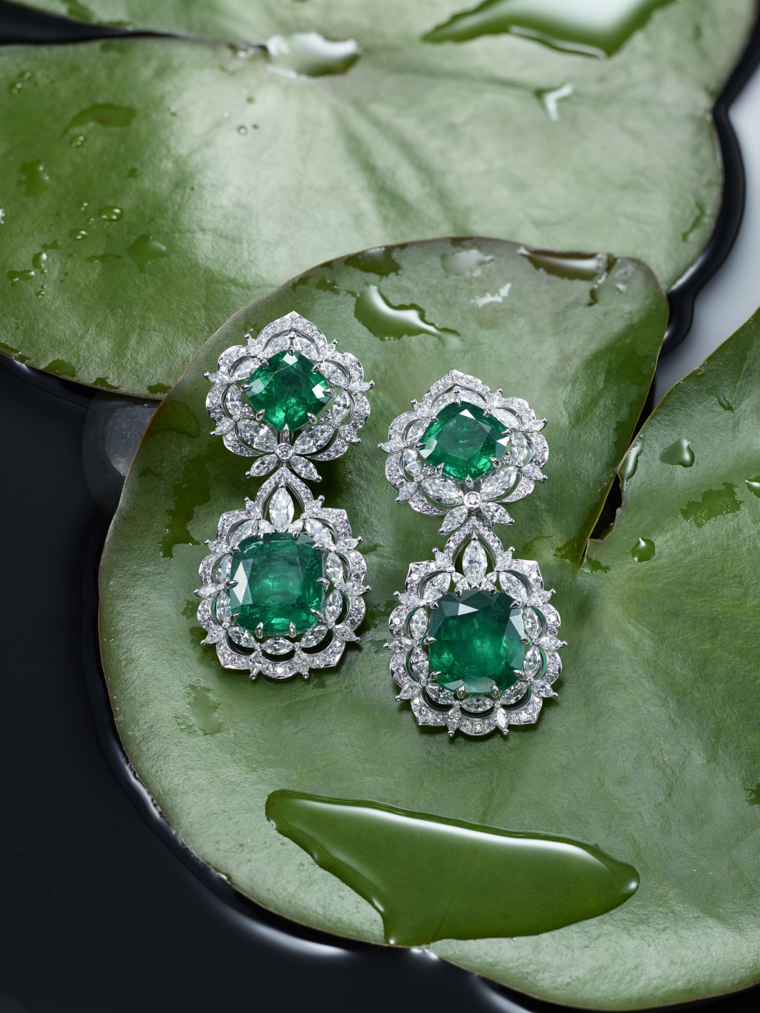 Earrings from the Green Carpet Collection (2)
