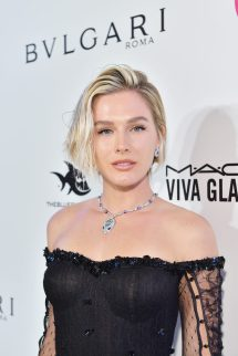 WEST HOLLYWOOD, CA - MARCH 04: Fiorella Gelli Mattheis attends the 26th annual Elton John AIDS Foundation Academy Awards Viewing Party sponsored by Bulgari, celebrating EJAF and the 90th Academy Awards at The City of West Hollywood Park on March 4, 2018 in West Hollywood, California. (Photo by Stefanie Keenan/Getty Images for Bulgari)