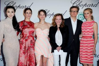 Fan Bing Bing, Livia Firth,Marion Cotillard, Caroline Scheufele, Colin Firth, Laura Bailey, the Journey (2013)