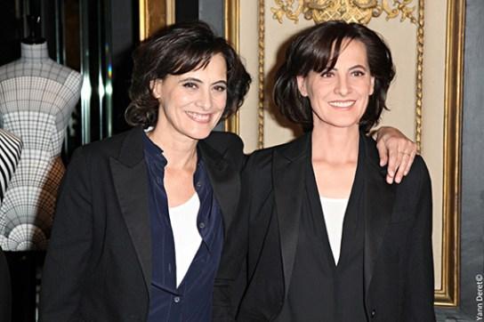 Ines de La Fressange et Ines de La Fressange (2) L