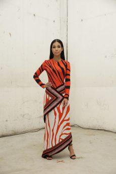 Jhene Aiko in Roberto Cavalli @ Roberto Cavalli Fashion Show FW1819 - 23-02-18