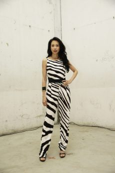 Karen Mok in Roberto Cavalli @ Roberto Cavalli Fashion Show FW1819 - 23-02-18