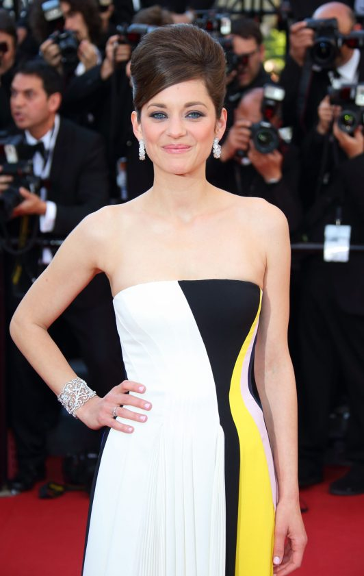 CANNES, FRANCE - MAY 20: Marion Cotillard attends the Premiere of 'Blood Ties' at The 66th Annual Cannes Film Festival on May 20, 2013 in Cannes, France. (Photo by Mike Marsland/WireImage)