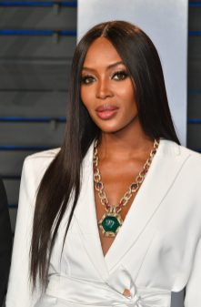 BEVERLY HILLS, CA - MARCH 04: Naomi Campbell attends the 2018 Vanity Fair Oscar Party hosted by Radhika Jones at Wallis Annenberg Center for the Performing Arts on March 4, 2018 in Beverly Hills, California. (Photo by Dia Dipasupil/Getty Images)
