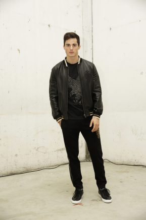 Pietro Boselli in Roberto Cavalli @ Roberto Cavalli Fashion Show FW1819 - 23-02-18