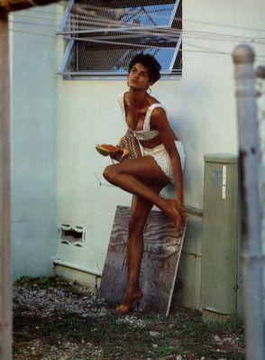 Linda Evangelista : couverture du Vogue Afrique ?