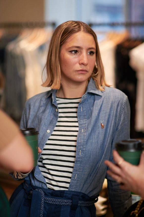 Camille Charrière and Monica Ainley host a breakfast to celebrate the Polo Shirt, at Polo Ralph Lauren's Regent Street store, London on Thursday 12th April 2018.