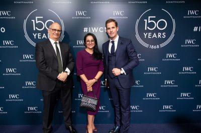 IWC 150 Years_Charles and Malika Prattern