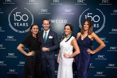 IWC 150 Years_Rihab Hannouf_Matthew_Sara Yassine_Sabine Ghossein