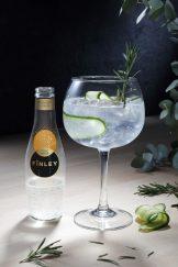 LE TONÏC AND MORE Redécouvrez le mélange incontournable du gin et du FÏNLEY Tonic Water, sublimé par la floralité du romarin et du concombre. Un cocktail frais et végétal.