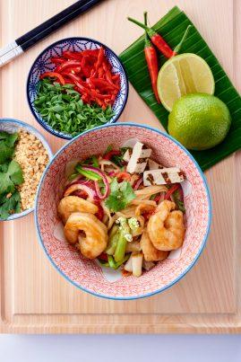 Pad thai aux crevettes - © B. Winkelmann (4)