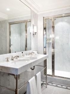 Salle de bain Chambre Deluxe ©Hervé Goluza