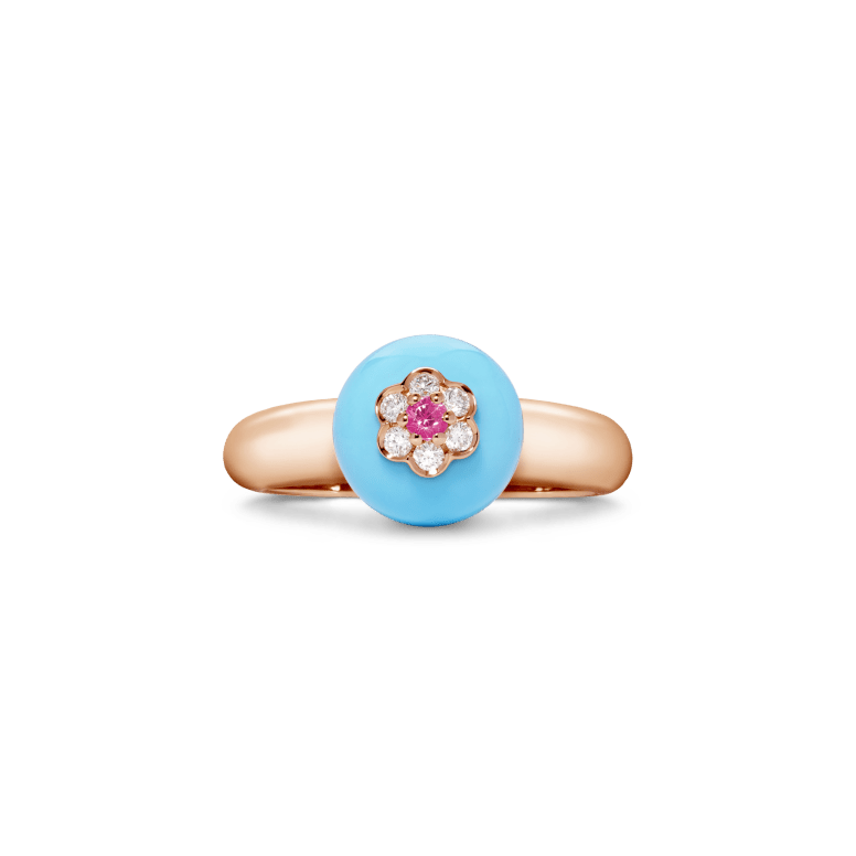 11-09-1172 Turquoise Ring Frnt