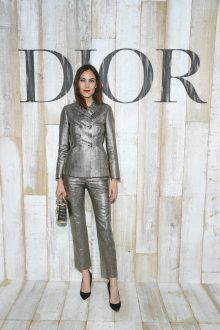 CHANTILLY, FRANCE - MAY 25: Alexa Chung poses at a photocall during Christian Dior Couture S/S19 Cruise Collection on May 25, 2018 in Chantilly, France. (Photo by Pascal Le Segretain/Getty Images For Christian Dior) *** Local Caption *** Alexa Chung