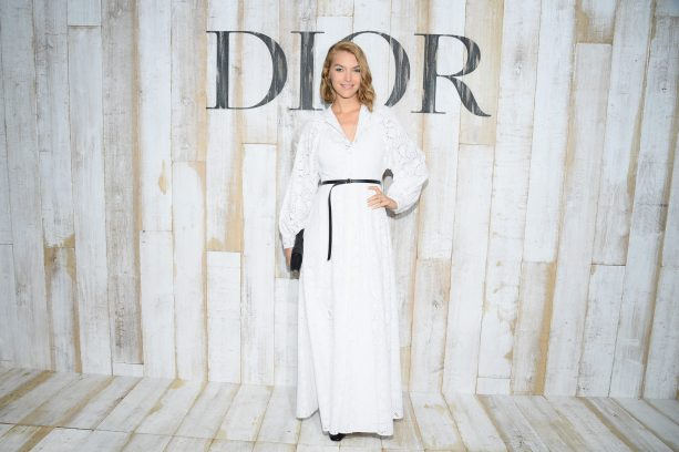 CHANTILLY, FRANCE - MAY 25: Arizona Muse poses at a photocall during Christian Dior Couture S/S19 Cruise Collection on May 25, 2018 in Chantilly, France. (Photo by Pascal Le Segretain/Getty Images For Christian Dior) *** Local Caption *** Arizona Muse