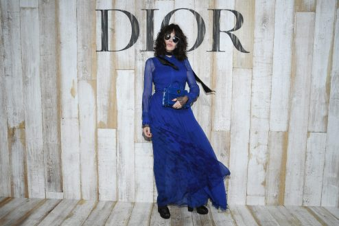 CHANTILLY, FRANCE - MAY 25: Isabelle Adjani poses at a photocall during Christian Dior Couture S/S19 Cruise Collection on May 25, 2018 in Chantilly, France. (Photo by Pascal Le Segretain/Getty Images For Christian Dior) *** Local Caption *** Isabelle Adjani