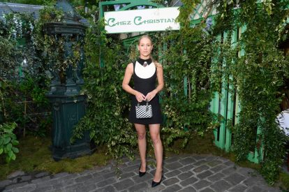 Carin Olsson attends the Welcome Dinner of the Christian Dior Couture S/S 2019 Cruise Collection on May 24, 2018 in Paris, France.