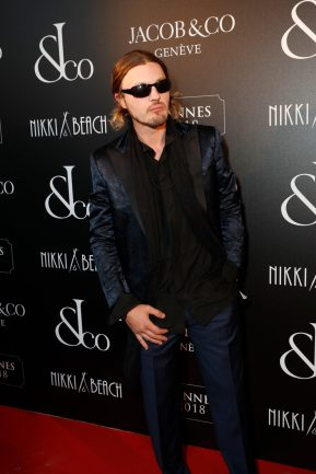 CANNES, FRANCE - MAY 16: Michael Pitt attends the Jacob & Co Cannes 2018 party at Nikki Beach on May 16, 2018 in Cannes, France. Pic Credit: Dave Benett *** Local Caption *** Michael Pitt