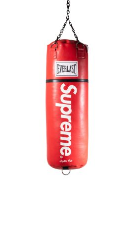 Everlast x Supreme, Sac de frappe Lights Out, 2016 ©Artcurial