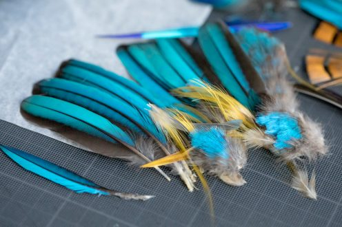 Making of - Feather Necklace from the Red Carpet Collection (10)
