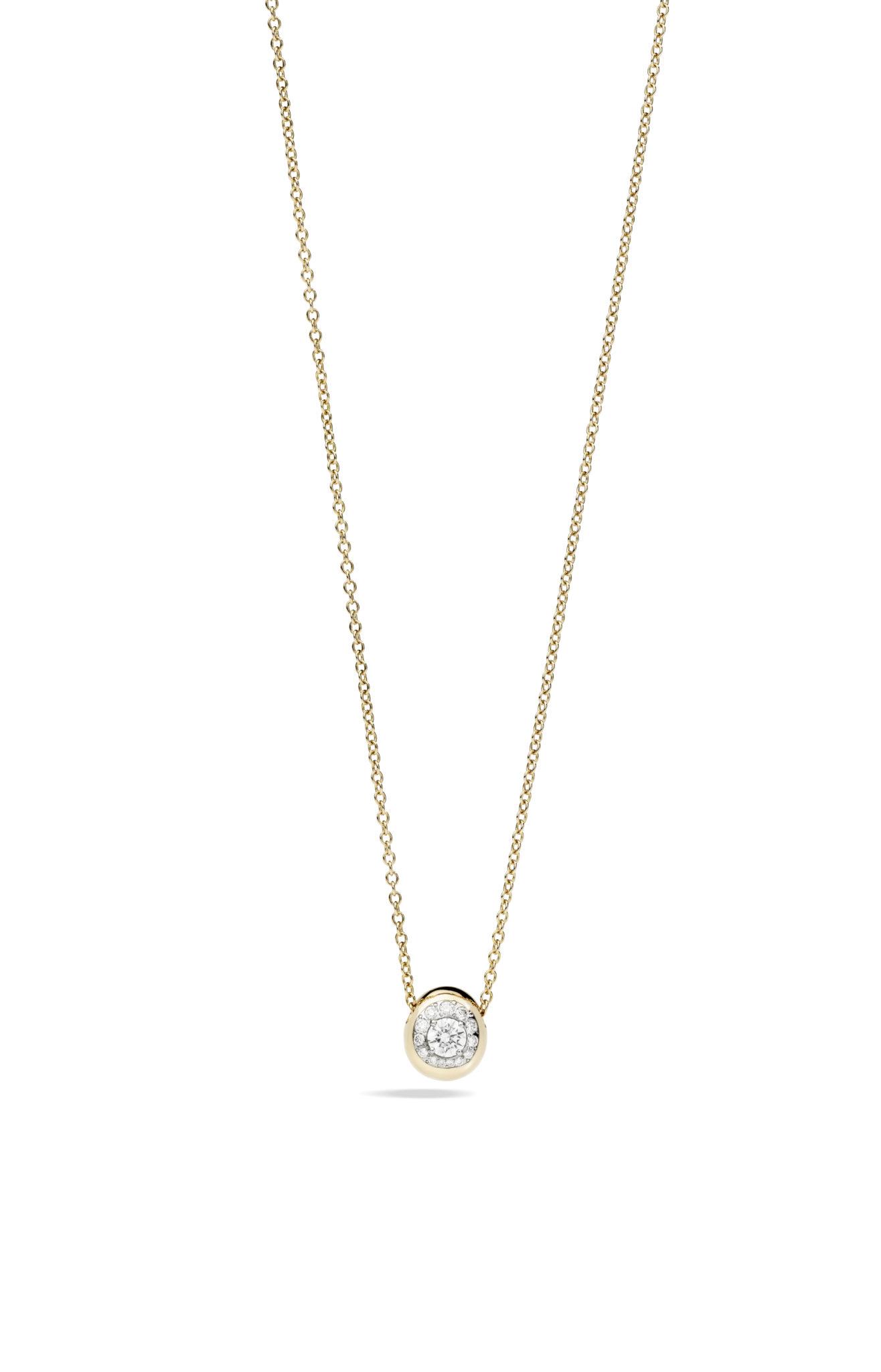 Nuvola pendant rose gold and diamonds by Pomellato