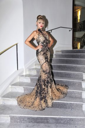 Pauline Baly Cannes - Martinez - May 11th - Franck Provost Paris - Galia Lahav