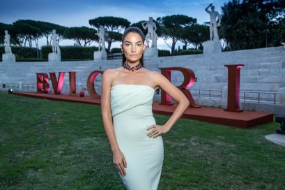 Lily ALDRIDGE.. Bulgari Brand Event High Jewerly. Wild Pop. Rome . Italy 06/2018 © david atlan