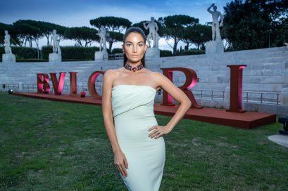 Lily ALDRIDGE.. Bulgari Brand Event High Jewerly. Wild Pop. Rome . Italy 06/2018 © david atlan
