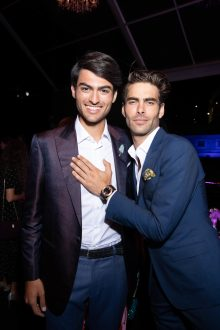 Matteo BOCELLI. Jon KORTAJARENA.. Bulgari Brand Event High Jewerly. Wild Pop. Rome . Italy 06/2018 © david atlan