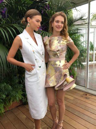 Arizona Muse and Natalia Vodianova