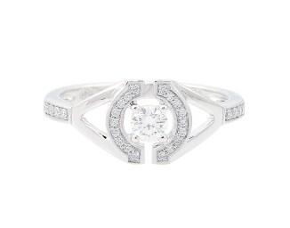 Gringoire Joaillier - Les Romantiques - sertie diamants face - BB1725BTS