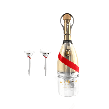 Mumm_Closed Bottle with 2 flutes