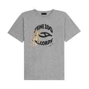 Tee shirt seine zoo lézard gris