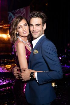 Nieves ALVAREZ. Jon KORTAJARENA.. Bulgari Brand Event High Jewerly. Wild Pop. Rome . Italy 06/2018 © david atlan