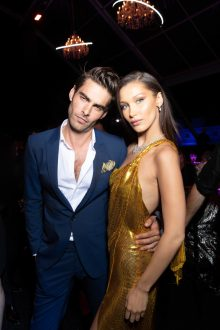 Jon KORTAJARENA. Bella HADID.. Bulgari Brand Event High Jewerly. Wild Pop. Rome . Italy 06/2018 © david atlan