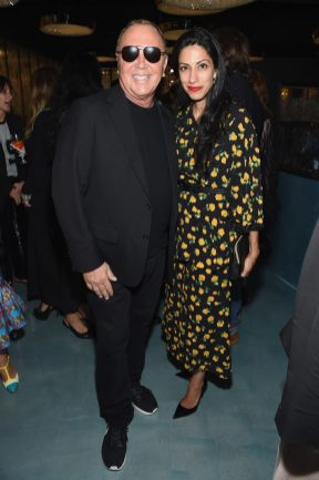 NEW YORK, NY - SEPTEMBER 12: Michael Kors and Huma Abedin attend the Michael Kors x 10 Corso Como Dinner at 10 Corso Como on September 12, 2018 in New York City. (Photo by Larry Busacca/Getty Images for Michael Kors)