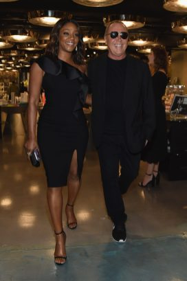 NEW YORK, NY - SEPTEMBER 12: Tiffany Haddish and Michael Kors arrive for the Michael Kors x 10 Corso Como Dinner at 10 Corso Como on September 12, 2018 in New York City. (Photo by Larry Busacca/Getty Images for Michael Kors)