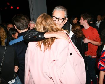 Jeff Goldblum, Laura Dern