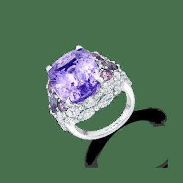Bague Saphir violet