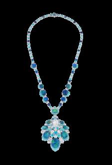 Collier opales paraibas