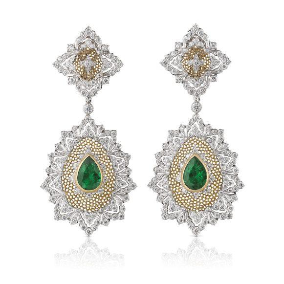 Esmeralda earrings B17BSF