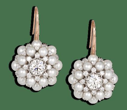 EARRINGS Pearl Anemone 0906950_G3