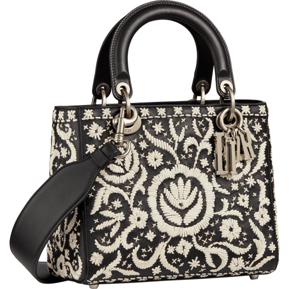 Mini_soft_Lady_Dior_bag_in_black_calfskin_embroidered