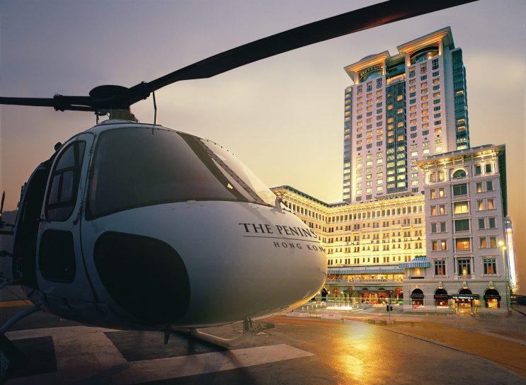 The Peninsula Hong Kong - Helicopter