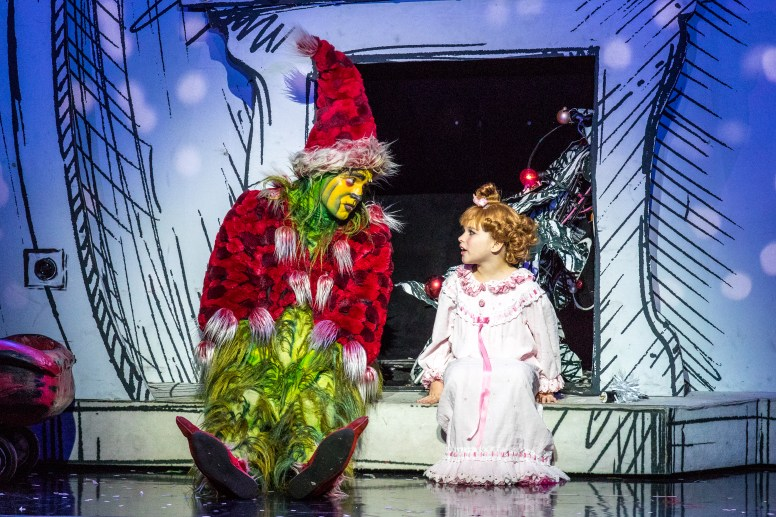 1 - Philip Bryan as The Grinch-Courtesy, Hulu Theater at Madison Square Garden
