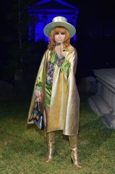 HOLLYWOOD, CA - NOVEMBER 02: Linda Ramone attends Gucci Guilty Launch Party at Hollywood Forever on November 2, 2018 in Hollywood, California. (Photo by Stefanie Keenan/Getty Images for GUCCI)