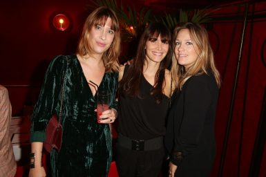 guets, Laetitia Fourcade et Caroline Faindt lors de la soiree d'inauguration du restaurant Roxie a Paris, France, le 27 Novembre 2018. Photo by Jerome Domine/ABACAPRESS.COM