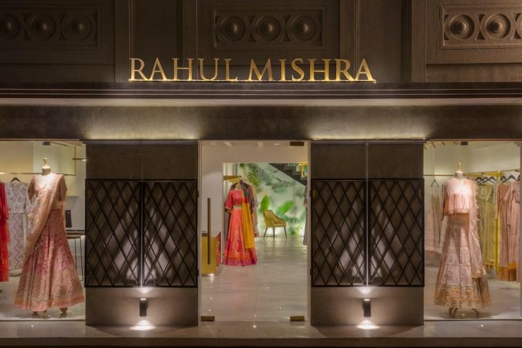 Rahul Mishra's Mumbai Flagship 1 © Fabien Charuau