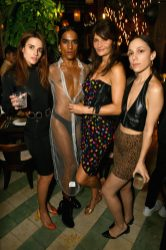 MIAMI, FL - DECEMBER 06: (L-R) Ana Kras, Richie Shazam, Helena Christensen and Carly Mark attend Adidas Originals, British Fashion Council and David Beckham host a dinner in celebration of their creative collaboration on December 6, 2018 in Miami, United States. (Photo by Getty Images/BFC/Getty Images for BFC) *** Local Caption *** Ana Kras;Richie Shazam;Helena Christensen;Carly Mark